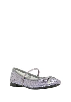 Clothing at Tesco | F&F Glitter Ballerina Pumps > shoes > Shoes & Boots > Kids