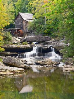 Old Mill House West Virginia This Is In Bab State Park A Beautiful Place To Visit