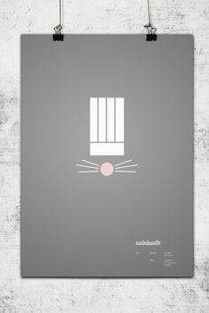 minimal pixar posters