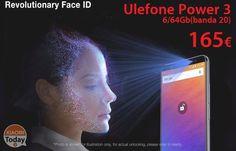 Codice Sconto - Ulefone Power 3 6/64Gb (banda 20) a 165€ garanzia 2 anni Europa #Xiaomi #Coupon #Offerta #Power3 #Ulefone https://www.xiaomitoday.it/?p=35715