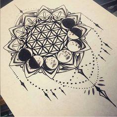 Moon Mandala ✖• P i n t e r e s t • @airihouston •✖