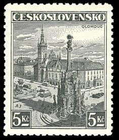 Hi-res stamps from Czechoslovakia and Czech Republic. Old stamps, rare stamps and famous classic Czech stamps. Old Stamps, Rare Stamps, European Countries, Czech Republic, Postage Stamps, City Photo, Vintage World Maps, Castle, Gallery