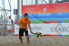 Campionati regionali Beach Tennis, bis di successi per Matteo Sordini: Nel test event di preparazione ai Giochi del Mediterraneo sulla Spiaggia l'atleta dell'Asd Beach Tennis Abruzzo trionfa nel doppio misto e nel doppio maschile terza categoria