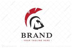 Logo for sale: Sparta Helmet Logo