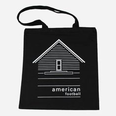 House Black Tote Bag