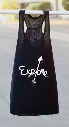 Explore - Graphic Tank