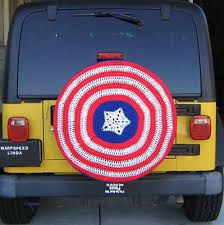 crochet tire cover - Google Search
