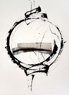 theforbiddencolors: by Kitty Sabatier - black and white - Large Abstract Wall Art - Home Decor Trend