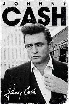 Johnny Cash - signature Poster