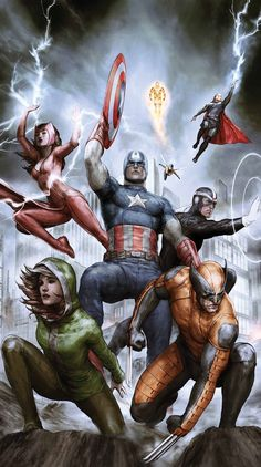 Uncanny Avengers by Agustin Alessio