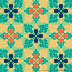 'The Bright Side' surface pattern design by Veronica Galbraith | Pitter Pattern