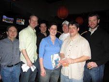 Winners of Bowling to Fight MS 2012 at Jillian's Boston