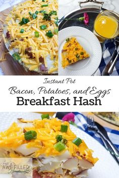 My family enjoys breakfast hash for dinner. Breakfast hash is an easy meal to make! Especially in the instant pot!  via @AFHomemaker