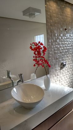 69 pretty unique modern bathroom decoration ideas to give you a peaceful bath time 13 - coodecors Washroom Design, Bathroom Design Small, Bathroom Interior Design, Decor Interior Design, Interior Decorating, Diy Decorating, Bedroom Wallpaper Texture, Myconos, Modern Bathroom Decor