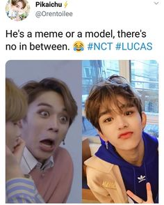 Look up duality in the dictionary and Wong yukhei/Huang xuxi/lucas will be the definition thank you for coming to my ted talk