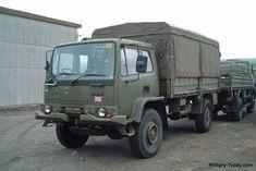 Leyland DAF T244 General Utility Truck | Military-Today.com Volvo Trucks, 4x4 Trucks, Utility Truck, 4x4 Van, Diy Rv, Land Rovers, Mobile Homes, Car Wheels, British Army