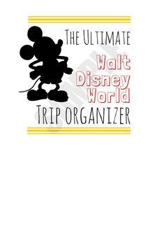 The Ultimate Walt Disney World Trip Planner by CosmosMariners