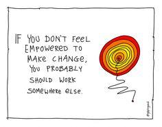 empowered to make change