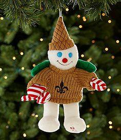 Love Mr. Bingle!  (Dillards Trimmings 2012 Mr Bingle Plush Ornament #Dillards)