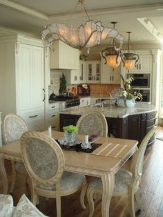"""Dining room chandelier by Niermann Weeks. http://www.niermannweeks.com/ Kitchen"""