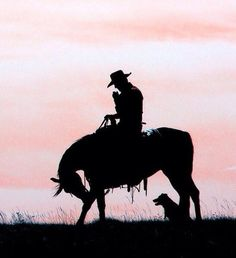 A man and his horse