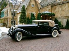 1933 Rolls Royce Phantom 11 Continental by Gurney Nutting Rolls Royce Phantom, Cadillac Escalade, Bugatti Veyron, Vintage Cars, Antique Cars, Retro Cars, Automobile, Bentley Rolls Royce, Rolls Royce Motor Cars