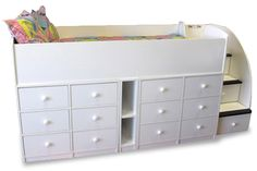 Kids Beds with Drawers Underneath