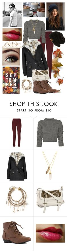 """#33 Autumn"" by charlotte-sk ❤ liked on Polyvore featuring mode, J Brand, Privileged, Erickson Beamon, Tylie Malibu, Cullen en Venom"