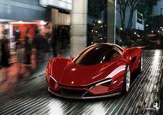 Ferrari FXX-K only 29 were made! Ferrari Xezri Competizione Concept by Levon. See more about Ferrari. Ferrari F80, Ferrari 2017, Ferrari World, Lamborghini Gallardo, Maserati, Sexy Cars, Hot Cars, Diesel Cars, Futuristic Cars