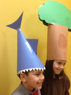Silly Hats: Man-eating Shark and a Tree