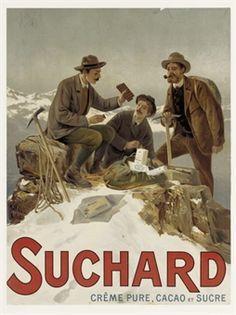 Chocolat Suchard, via Claudia lopes