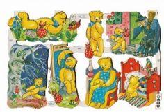 Poëzieplaatje avonturen van teddyberen MLP 1465