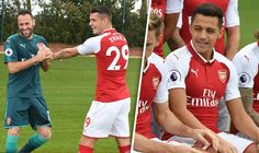 Arsenal news: Gunners aces mess around during photoshoot  and Alexis Sanchez looks happy!   via Arsenal FC - Latest news gossip and videos http://ift.tt/2wYj2i1  Arsenal FC - Latest news gossip and videos IFTTT