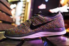 #Nike Flyknit Lunar1+ Multicolor