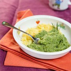 Légumes verts parfumés au romarin et polenta au parmesan (dès 9 mois) http://www.famili.fr/,legumes-verts-parfumes-au-romarin-et-polenta-au-parmesan,566,10831.asp