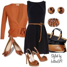 rust pumpkin black cognac..love this color combo. Navy or plum would be cute too.