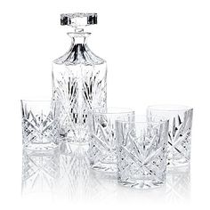 Jeffrey Banks 5-piece Decanter Set