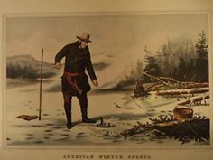 """Vintage 15"""" x 11.75"""" Currier and Ives Quality Print # 43, Suitable for Framing #Vintage"""
