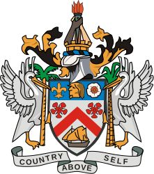 Coat of arms of Saint Kitts and Nevis.svg