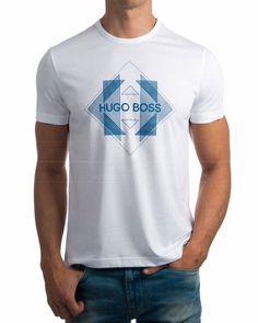 Shirt Print Design, Shirt Designs, Hugo Boos, Mens Fashion, Fashion Outfits, Swim Shorts, Ralph Lauren, Mens Tees, Printed Shirts