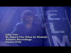 ▶ John Parr - St Elmo's Fire (Man In Motion) - 1985 - love that movie too. Up Music, Music Film, Kinds Of Music, Music Love, Music Lyrics, Good Music, Love Is My Religion, One Hit Wonder, Popular Music