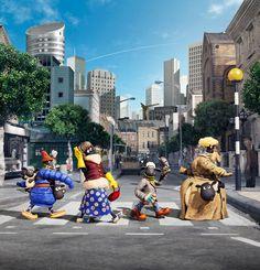 #THEBEATLES #BEATLES BEATLES  MAGAZINE: SHAUN THE SHEEP THE MOVIE RECREATING THE BEATLES' ...