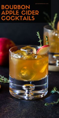 These bourbon apple cider cocktails will warm you from the inside out and keep you toasty all season long the perfect fall cocktail! bourbon apple applecider bourboncocktails bourbondrinks fall tailgating apple cider hot toddy with maple syrup Bourbon Apple Cider, Apple Cider Cocktail, Bourbon Drinks, Bourbon Cocktails, Fall Cocktails, Cocktail Drinks, Cocktail Recipes, Alcoholic Drinks, Beverages