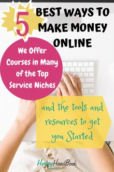 Looking for ways to create a reliable, sustainable income that you are ultimately in control of? In this weeks blog post, we'll cover the top five most reliable, legitimate ways to earn income on the internet. We'll also share some resources that have helped thousands of people do just that. #blogging #freelance #freelancing Work From Home Companies, Online Jobs From Home, Work From Home Opportunities, Online Work, Earn Money From Home, Way To Make Money, Make Money Online, How To Make, Extra Money
