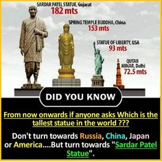 Which will be known as statue of Unity❤️🙌🏻