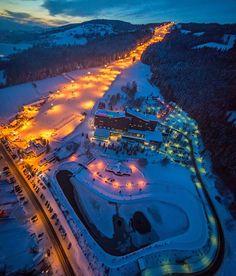 POLANA SZYMOSZKOWA ski resort and geothermal pool, lift, hotel mercure Kasprowy, Poland, www.szymoszkowa.pl/