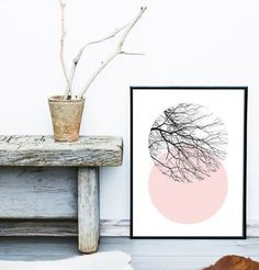 "Inspired by #Scandinavian #art this #abstract #nature #print will bring warmth and coziness into your #home . An affordable way to give your home your personal touch ◇○◇○◇ $12 - up to 24"" × 36"" #worldwide shipping ○ ○ ○ #walldecor #interiordesign #wallart #interiores #scandinavianart #homedecor"