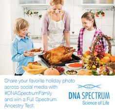 This December DNA Spectrum is providing our customers plenty to celebrate! #competition #ancestrytest