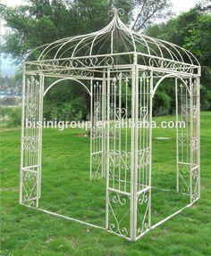 El estilo de europa al aire libre del jardín de hierro forjado gazebo( bf10- m545)-Gazebos-Identificación del producto:60103857506-spanish.alibaba.com