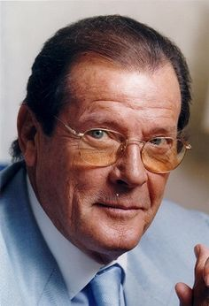 Sir Roger George Moore ~ Age: 89  Born: Oct. 12, 1927 & Died: May 23, 2017!  He died today of Cancer!  He was an English actor!  He played James Bond & he also played The Saint!  The Queen of England like him sooo much that she Knighted him!  He will truly be missed!  R.I.P.
